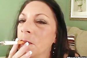 cougar margo smokin oral-job