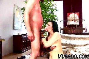 milf fucks her son friend hard !!