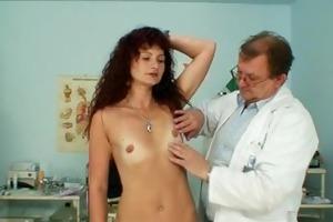 redhead mother i vagina checkup at perverted