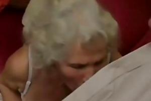 scottish old granny acquires fucked