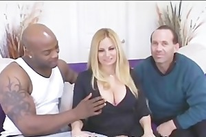 passionate wife shared with black cock