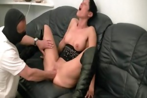 horny amateur mother i fist screwed by the builder