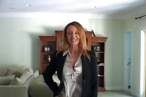 redhead mother i gives a great titjob