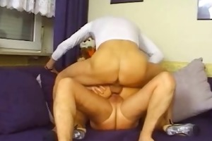 old perverts double penetrate young blondie