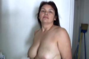 charming older hottie has ravishing big tits