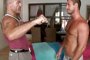 massaging juvenile hard dick