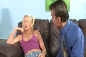 darksome penis and a tiny honey 4